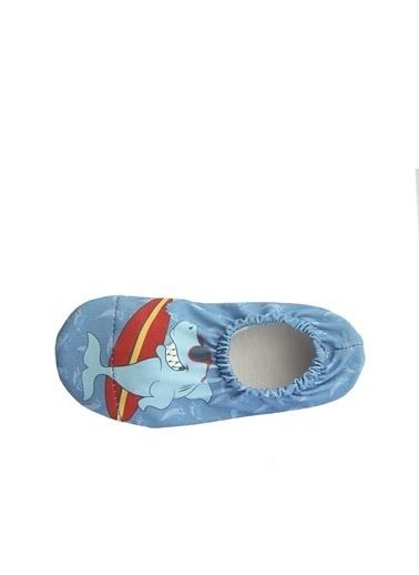 Newborn Havuz Ayakkabısı Naq4011-Srf Mavi